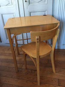 Bureau/pupitre et chaise Baumann
