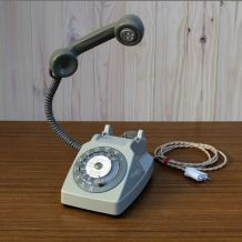 Gaston, téléphone /lampe Led Socotel- France 1970