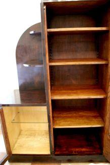 Vitrine art déco, bibliothèque, vaisselier