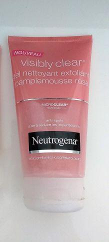 Gel nettoyant Visibly Clear Neutrogenat