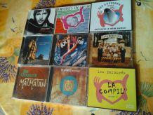 CD (Rock - Pop - Variété)