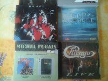 Coffrets CD et CD Rock Variété