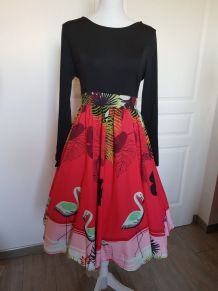 Robe pin-up style vintage
