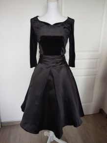 Robe pinup style vintage noire