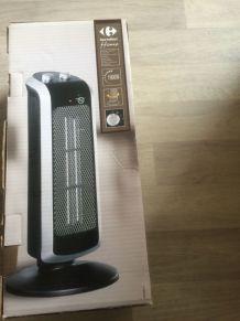 Ventilateur et chauffage (colonne sur pied) neuf
