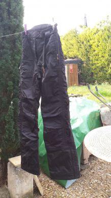 pantalon de ski de marque poivre blanc