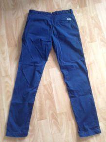 Pantalon bleu homme neuf