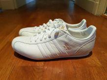 Adidas Adi 14 Cuir Blanc & Or T44