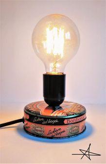 """Lampe à poser vintage """"L'Air des Vosges"""""""