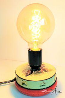 """Lampe à poser vintage """"Saturnin"""""""