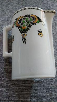 broc de toilette ancien - DIGOIN - Art déco - Collection Phèdre
