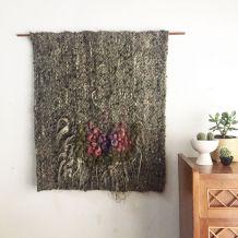 Tissage murale laine