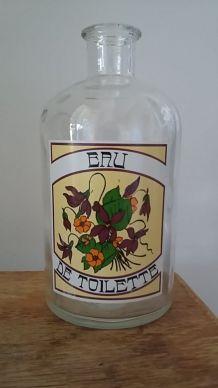 Bouteille eau de toilette vintage