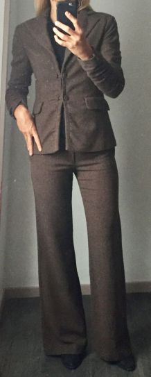 Tailleur pantalon automne hiver Mango T 38