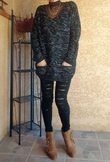 Pull Chiné Fantaisie New-Look