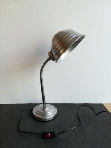 Lampe vintage chrome et alu