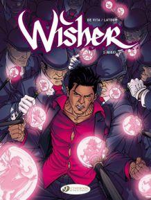 Lot de 4 BD Comics : Wisher (version Anglaise)