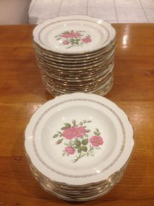 Service de table porcelaine de Gien