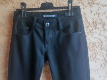 Pantalon Noir Stretch Elégant's Deluxe