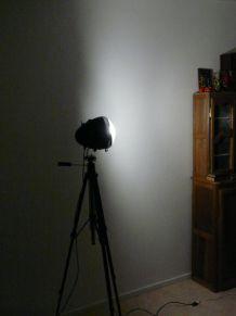 projecteur sur pied