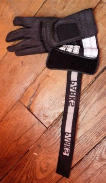 Gant De Golf Noir Pour Gaucher- Taille 21- Parks
