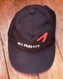 Casquette Noire De Golf- Neuve- Taille Unique- Kumho
