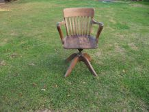 fauteuil de bureau de type Américain année 1930