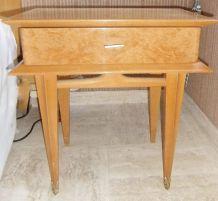 2 Tables de chevet Haut de Gamme Scandinave Années 50/60