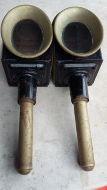 2 lampes anciennes