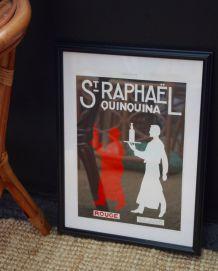 Publicité St Raphael magazine l'Illustration années 30 encadrée