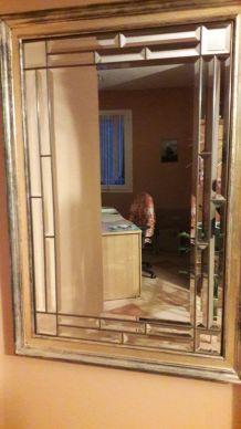 Grand miroir style vénitien