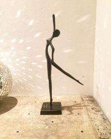 Statue danseuse en bronze