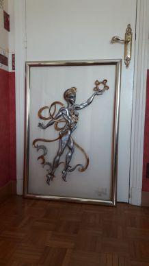Tableau sculpture de Chantal WOLKOFF (91 x 65)