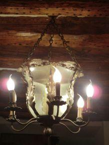 lanterne en laiton style Louis XV