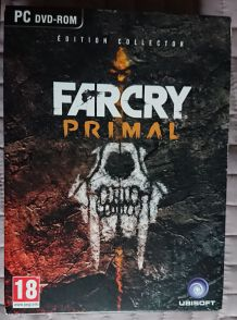 Collector Far Cry Primal PC Comme Neuf