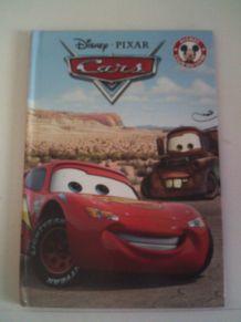 Livre  Cars Disney