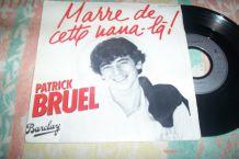 disque 45 tours 2 titres patrick Bruel