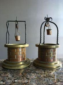 Puits en cuivre et laiton