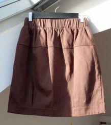 Mini jupe boule marron glacé Etam taille 40