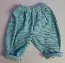 Pantalon vintage en velours 6 mois