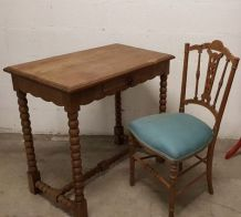 table bureau chaises
