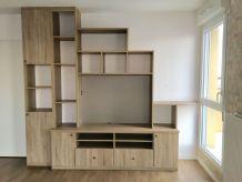 Meuble TV bibliothèque ARCHEA