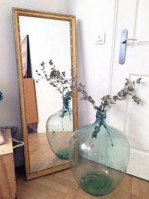 Grand Miroir vintage doré 70's