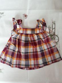 Petite robe à carreaux