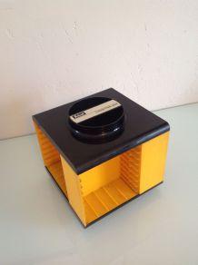 Tourniquet Range K7 audio vintage jaune et noir – Années 70-80