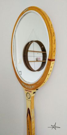 "Miroir, raquette tennis, raquette miroir - ""Bentley"""