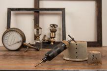 Ancienne pompe de graissage Tecalemit