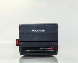 Polaroid 660 + sacoche en cuir  -  80 EUROS