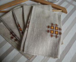 Serviettes de table Vintage'S 70