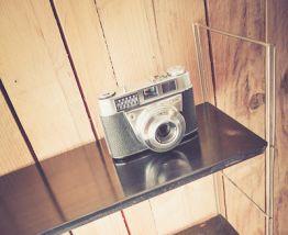 Etagère métallique vintage type TOMADO